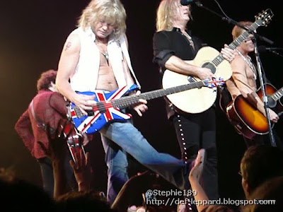 Viv, Sav, Joe, and Phil - Def Leppard