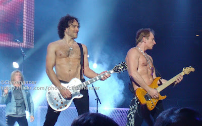 Joe Elliott, Vivian Campbell, and Phil Collen - Def Leppard - 2008