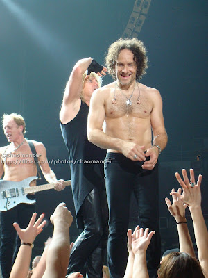Phil Collen, Rick Savage, and Vivian Campbell - Def Leppard -  2008