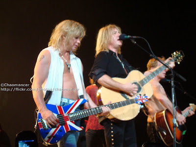 Sav, (Viv), Joe, and Phil - Def Leppard - 2008