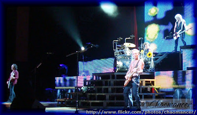 Vivian Campbell, Phil Collen, Rick Allen, and Rick Savage - Def Leppard - 2009