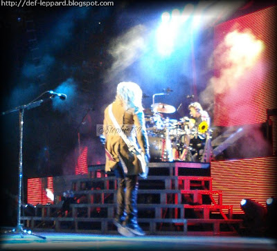 Rick Savage and Rick Allen - Def Leppard - 2009