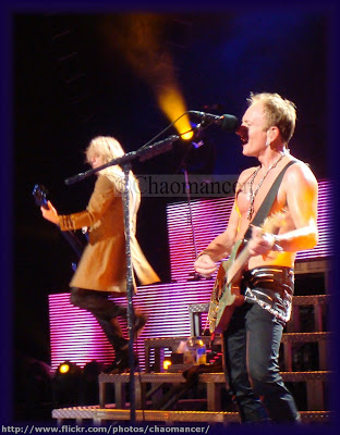 Rick Savage and Phil Collen - 2009 - Def Leppard