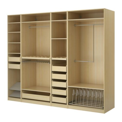 Everyday clever creative closets organization at its best for Ikea closet storage