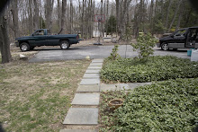 BEFORE THE NEW GARDEN & GATE TO THE DRIVEWAY