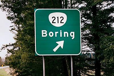 We beginnen met Boring in Tennessee (VS); hebben we het saaiste gelijk geahd