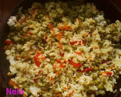 Articole culinare : Orez cu mazare