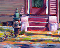 Street Sidewalk Stoop by Paul Fayard