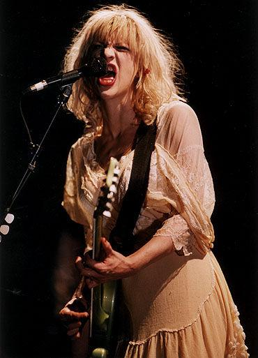 Courtney Love's Baby Doll Punk hasn't grown up yet