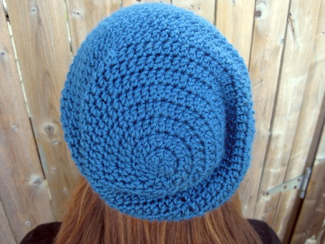 Cool Crochet Patterns: Slouchy Beanie