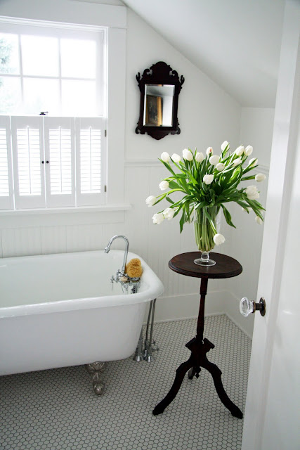 In the fields upstairs master bath for Simply bathrooms