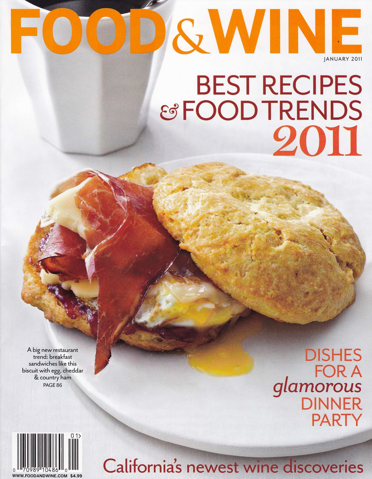 In the fields food wine food wine magazine included a picture of our kitchen in a piece entitled food bloggers best kitchen design ideas page 56 in their january 2011 forumfinder Images