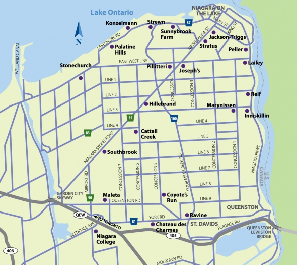 niagara wine trail map with  on Lake Ontario Map further Cyclists peddle new greenbelt bike route also Maps further Links together with Calendar Store In South Coast Plaza.