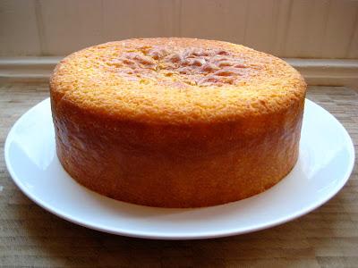 Annabelle White Lemon Sour Cream Cake