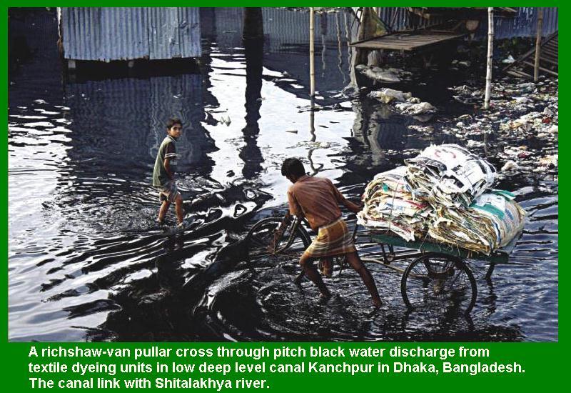 ... , Turag, Balu and Buriganga river remain unchanged, Dhaka, Bangladesh