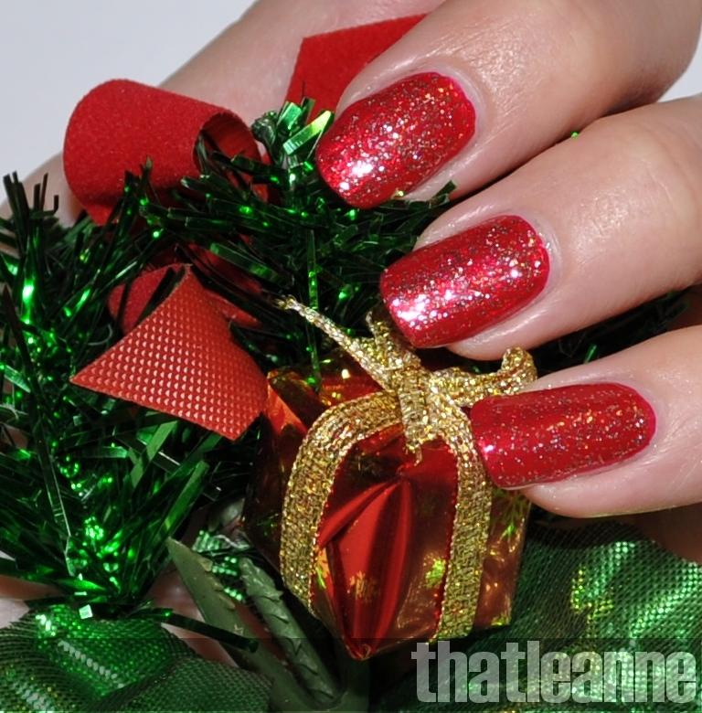 thatleanne: Day 5 of the Nail Polish Advent Calendar: Cherry Kisses