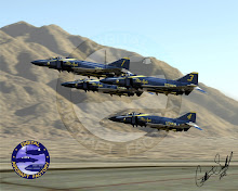 Blue Angel F-4J Team