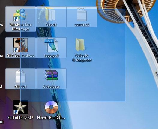 pegadinha no desktop