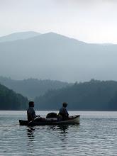 Lone paddlers