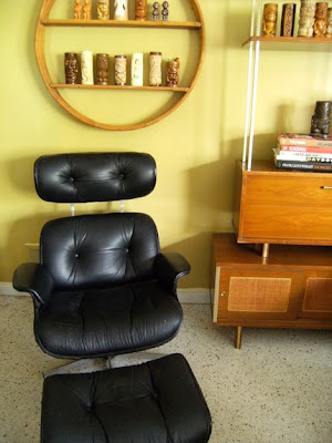 Eames Plycraft Lounger and Ottoman