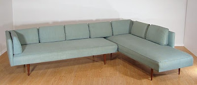 mid century modern danish sectional sofa
