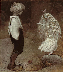El niño duda si creerle o no...