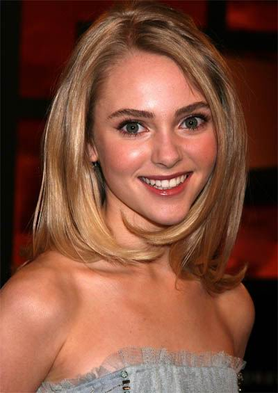 Anna+Sophia+Robb+shoulder+length+hairstyle Shoulder Length Haircuts