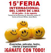 El mes de julio en Lima es el mes de la Feria Internacional del Libro de . (feria del libro)