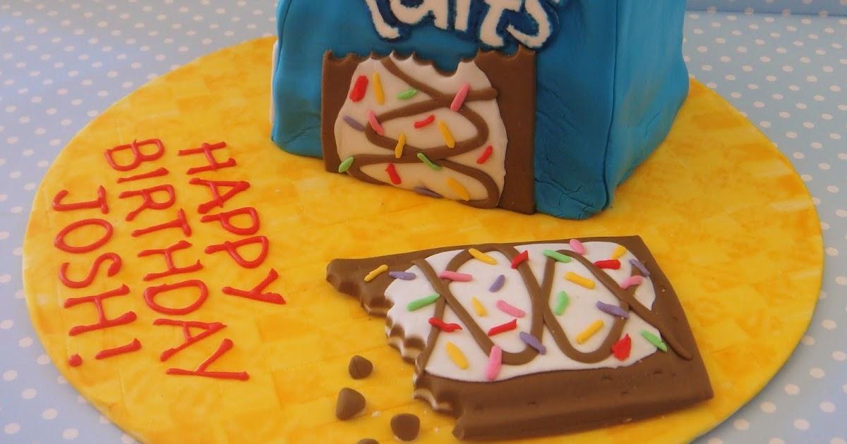 butter hearts sugar: Pop Tarts Cake
