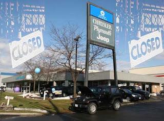 Chrysler discloses iowa car dealerships closure list the for Cedar city motor company