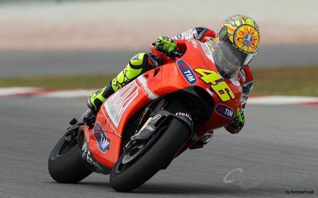 El rumor del fichaje de Valentino Rossi por Ducati para la temporada 2011 no
