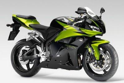 Honda CBR 600 Motorcycle