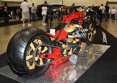 ide motor modifikasi harley