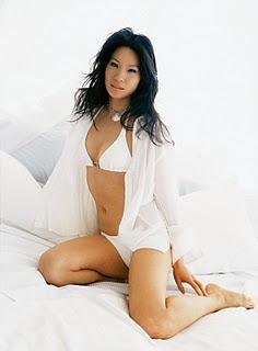 Sexy bikini asian girl
