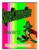 Blog Award - Super Commentator