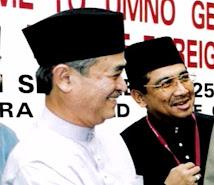 With Tun Abdullah