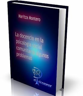 Maritza Montero- La docencia- en la- psicología- social -comunitaria -algunos -problemas