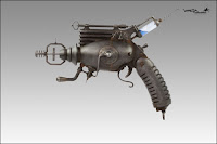 Dr. Grordbort's Manmelter 3600ZX Sub-atomic Disintegrator Pistol - Really, You Should Buy One Today!