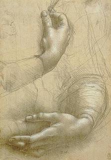 Leonardo da Vinci: Study of Hands