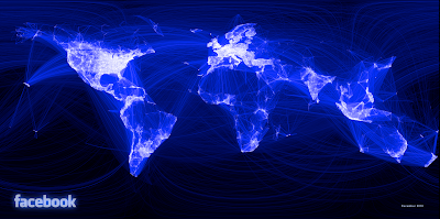 Visualizing Friendships - The World According to Facebook