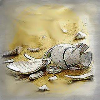 O vaso de alabastro, tem que ser quebrado...