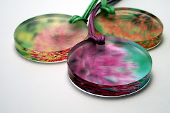 Three Allium Pendants