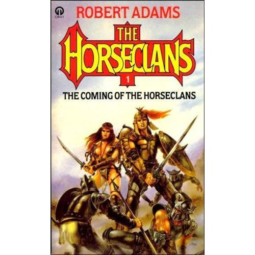 Robert Adams Horseclans books 6 through 13. Eight books. Used paperbacks.