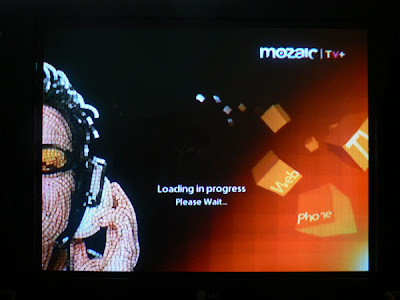 Qtel's Mozaic TV+ loading up