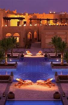 The Swimming Pool at the Ritz Carlton Sharq Village and Spa