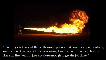 Thoughts on Flamethrowers