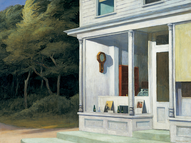 the beautiful painting by edward hopper house Edward hopper completed a painting in 1939 that directly approaches cinema from the canvas it is titled new york movie theater and it is a piece that is directly referenced in films such as pennies from heaven (herbert ross, 1981) and far from heaven (todd haynes, 2003.