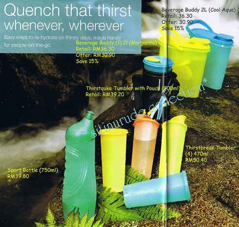 Quench that thirst whenever, wherever..........