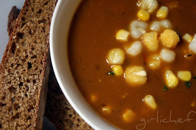 Soup, Corn, Bread & new Solstice Traditions