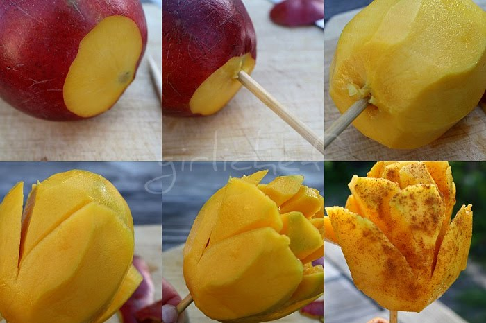 Paletas de mango con chile mango on a stick the mexican way making mango on a stick ccuart Gallery